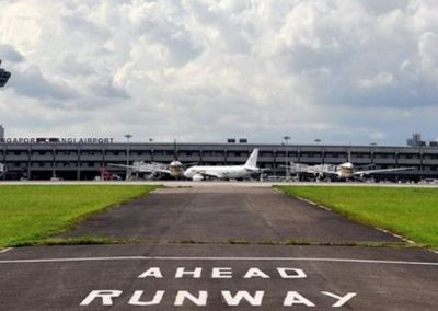 Changi Airport Taxiway